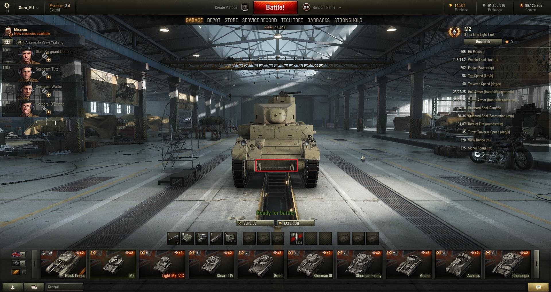 World-of-Tanks Patch-95 M2-Front-buffed