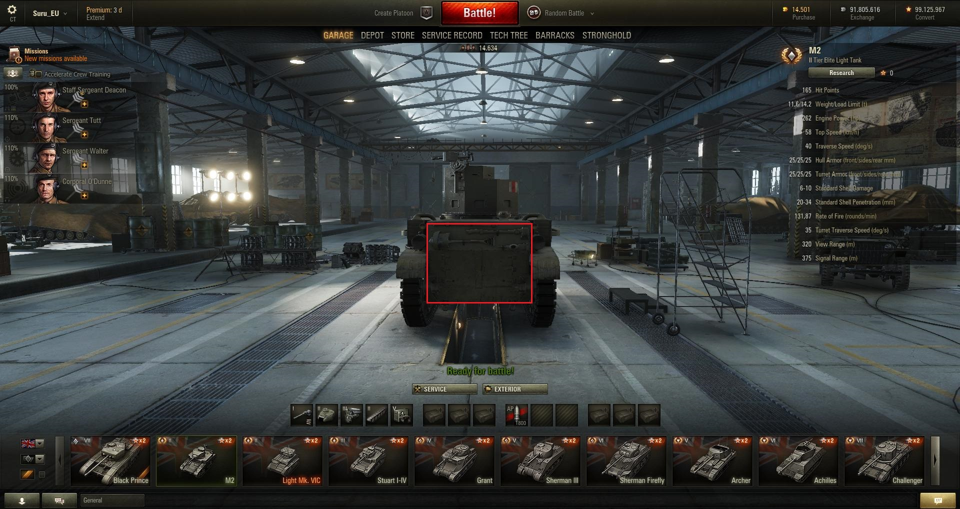 World-of-Tanks Patch-95 M2-Heck-buffed