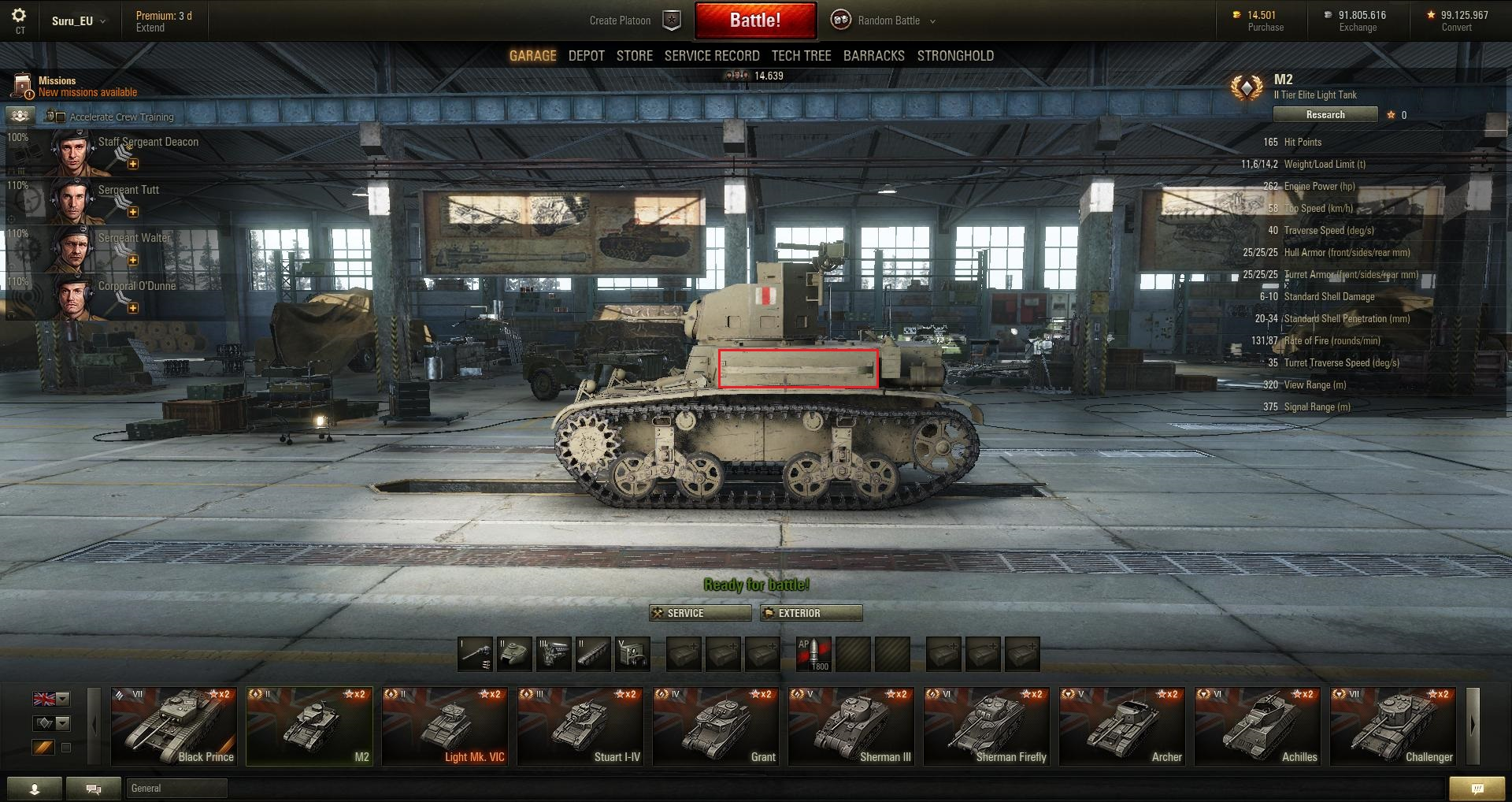 World-of-Tanks Patch-95 M2-Seite-buffed