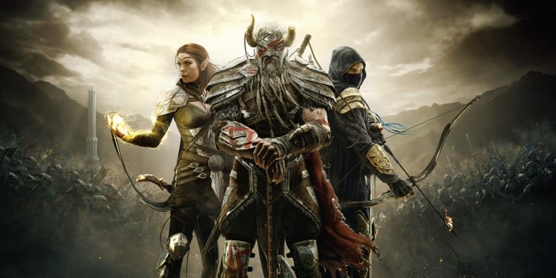 The Elder Scrolls Online: Die Helden aus dem Trailer.