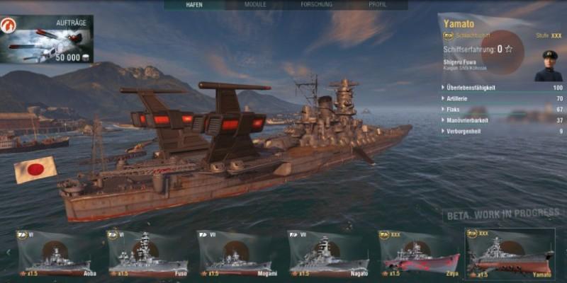 World of Warships: Raumschiffschlachten mit dem Space Battleship Yamato