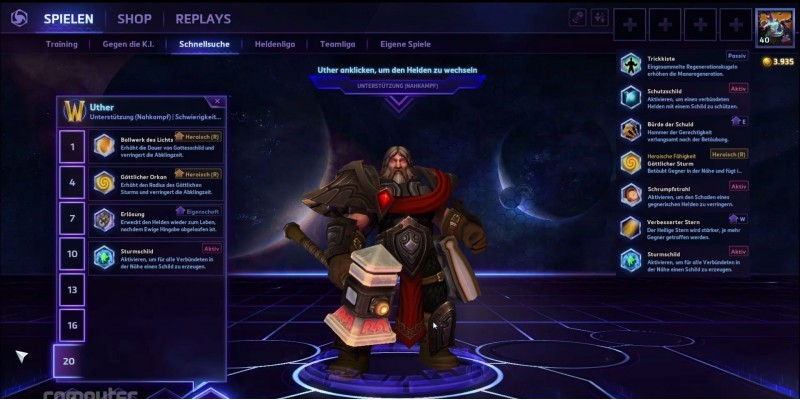 Heroes of the Storm: der große Uther-Guide!