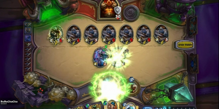 Hearthstone: Murloc-Power! Krieger-One-Turn-Kill mit 38HP im Video (2)