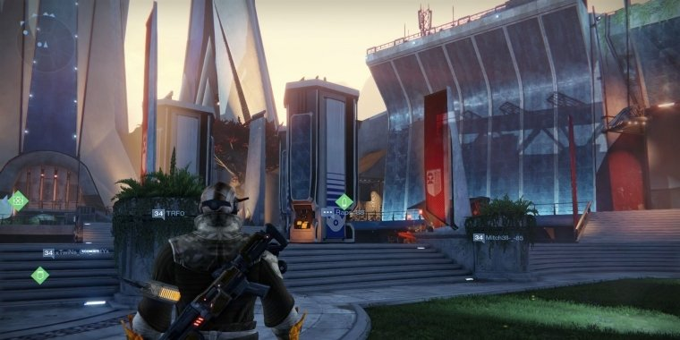 Der Turm in Destiny