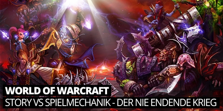 World of Warcraft: Story vs Spielmechanik