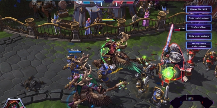 "Heroes of the Storm: Die Funktion ""Held ausprobieren"""