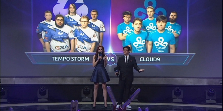 Heroes of the Storm: Team Tempo Storm vs. Cloud9