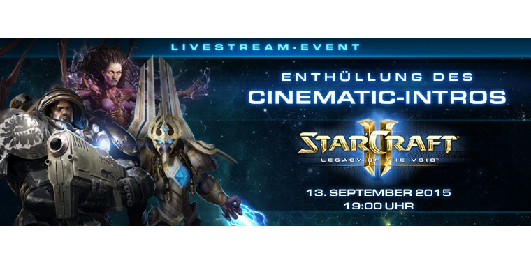 Starcraft 2: Legacy of the Void Weltpremiere heute Abend live!