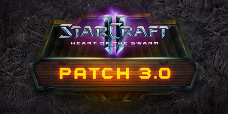 Starcraft 2 Patch 3.0