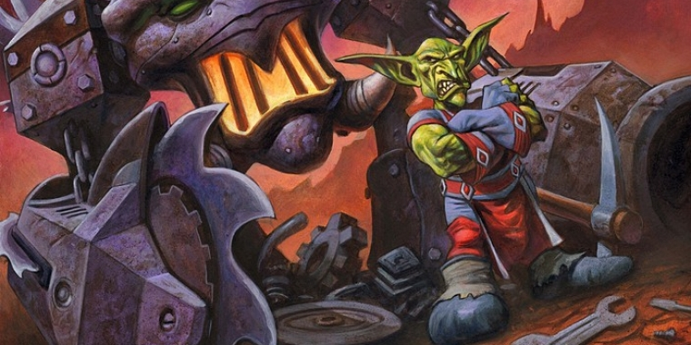 Ein Goblin aus World of Warcraft