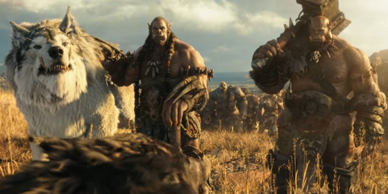 Orgrim und Durotan in Warcraft: The Beginning