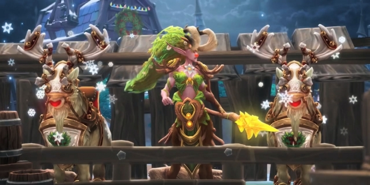 Heroes of the Storm: Winterhauchfest 2015-Trailer - Graumähne am 13. Januar 2016