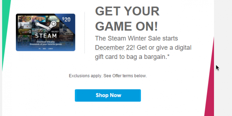 Steam: Paypal verrät den Starttermin des Winter Sales 2015