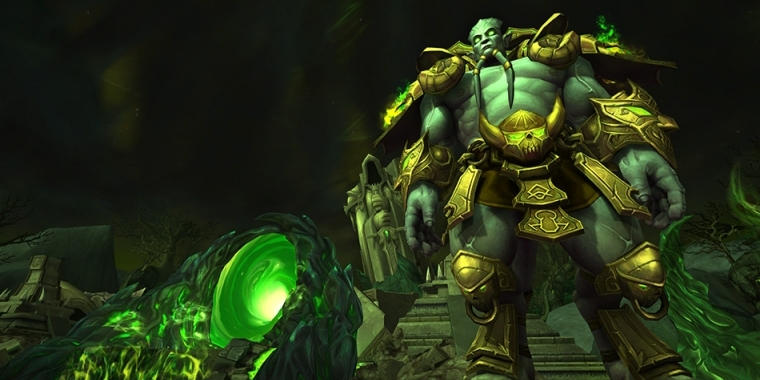 Archimonde aus World of Warcraft.