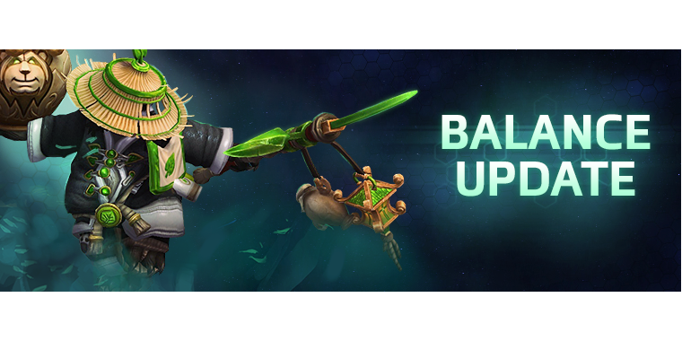 Heroes of the Storm: Balance Update