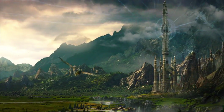 Ein Bild aus dem Film Warcraft: The Beginning