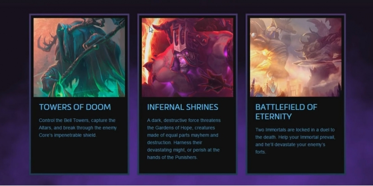 Heroes of the Storm Maps