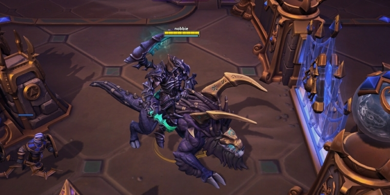 Heroes of the Storm: Master/Elite Xul mit WoW Legion CE-Mount