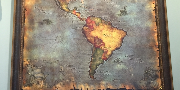 WoW: Die Welt im Stil von Azeroth - so würden unsere Karten aussehen