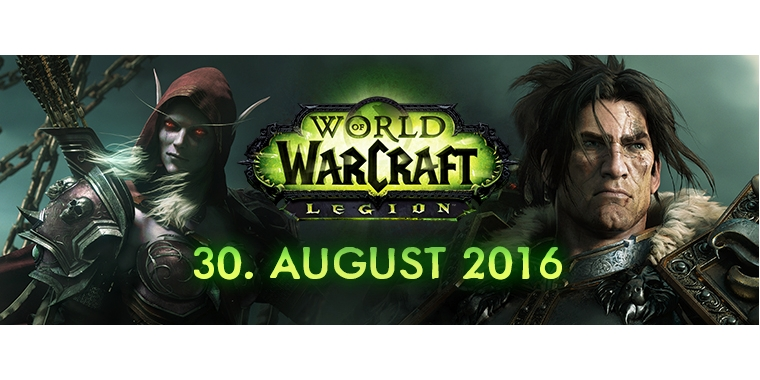 World Of Warcraft: Legion Release Date Announced