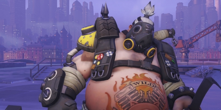 Roadhog aus Overwatch