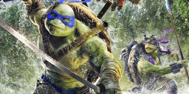 Teenage Mutant Ninja Turtles 2: Coole neue Charakterposter