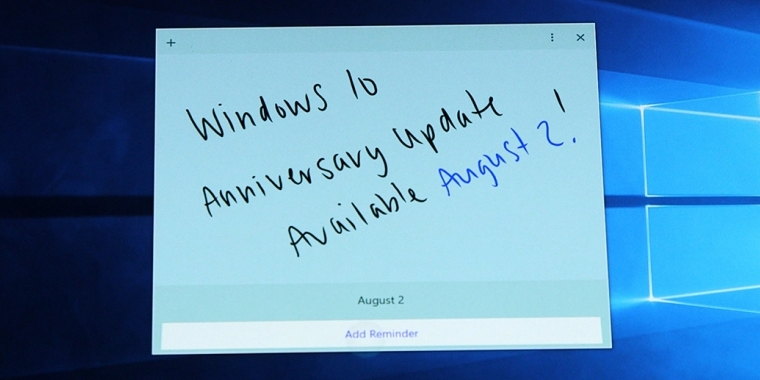 Windows 10: Anniversary Update