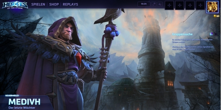 Heroes of the Storm: Medivh-Patch Version 18.4