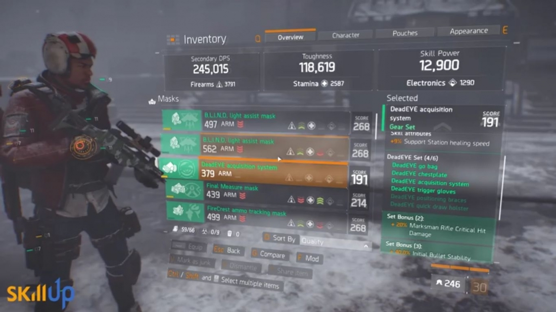 the division wie ihr mit dem deadeye gearset zur dps niete werdet. Black Bedroom Furniture Sets. Home Design Ideas