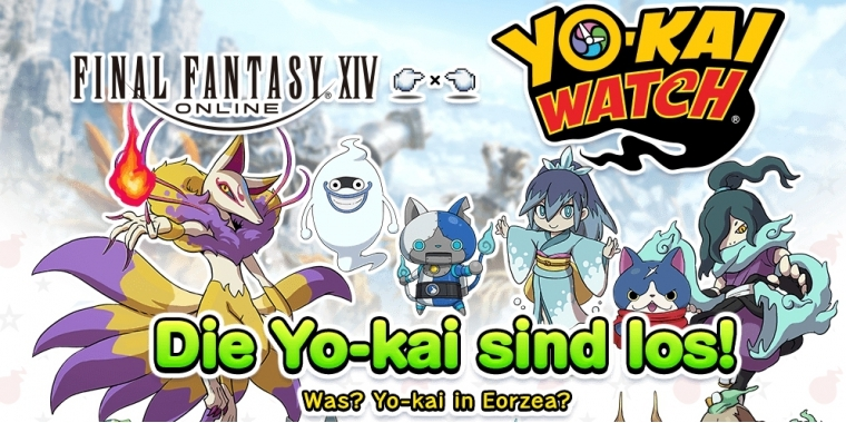 Final Fantasy 14: Yo-kai Watch erobert ab Dienstag Eorzea (1)