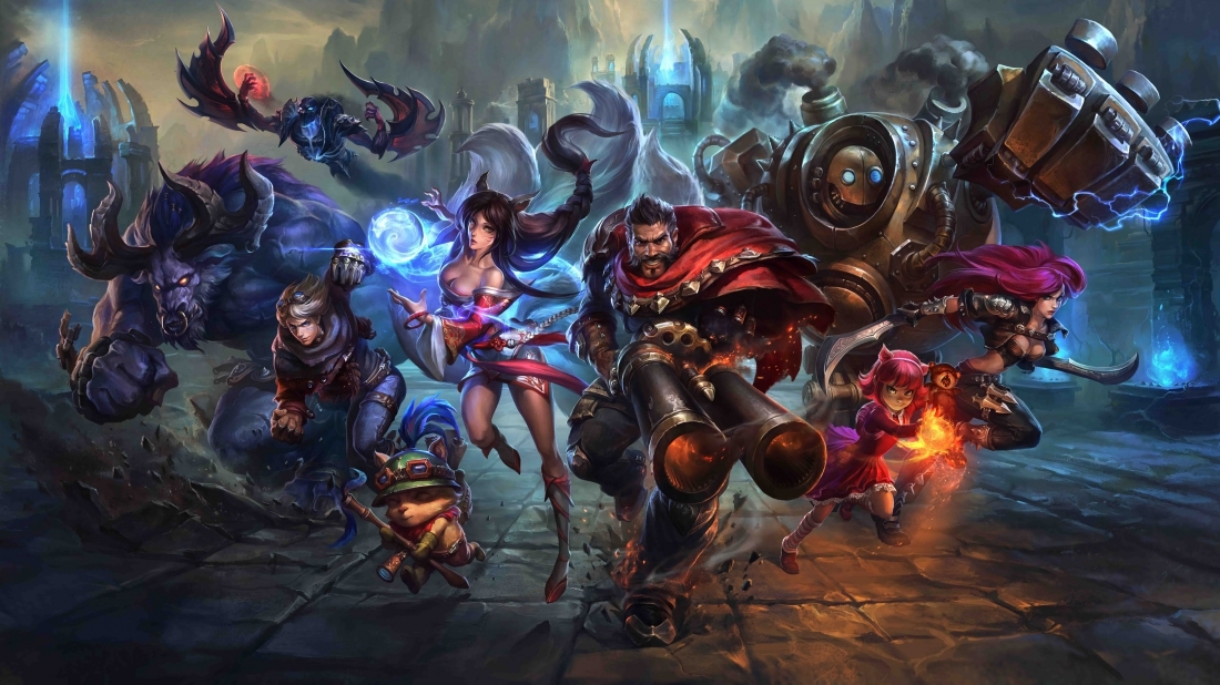 MMO-Marktübersicht 2016: League of Legends - das MOBA von Riot Games