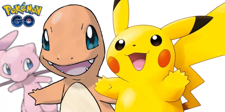 Pokémon GO: Pikachu and friends