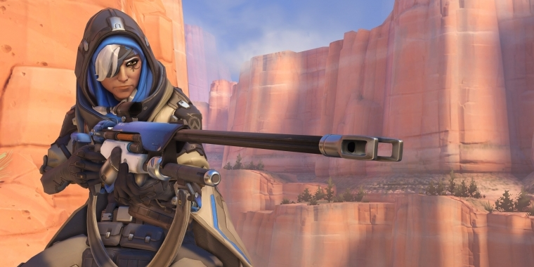 Overwatch: Support-Heldin Ana (1)