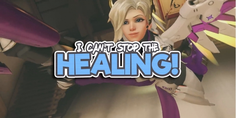 Overwatch: I can't stop the healing - Musikvideo