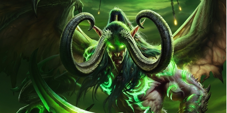 WoW Legion: Illidan Banner