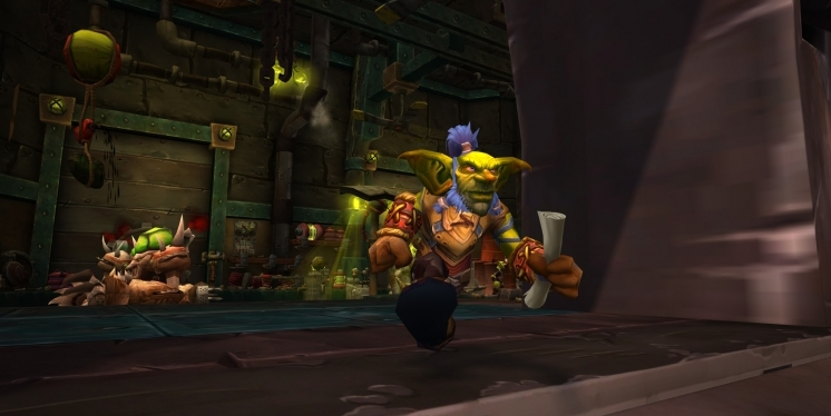 WoW Legion: Goblin-Ingenieur