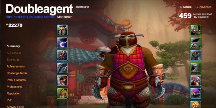 Doubleagent im WoW: Arsenal mit Level 101