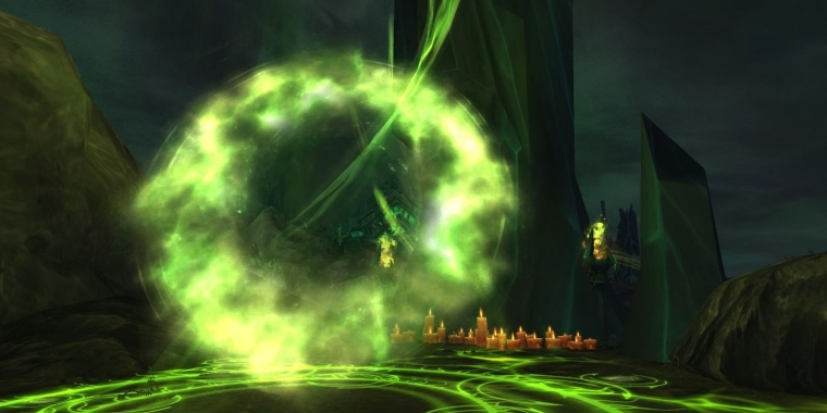 Das Portal in die Nekropole von Inquisitor Tivos in WoW: Legion