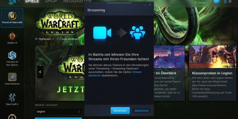 Battlenet Blizzard Streaming Für Jedermann Auf Facebook Ab Sofort