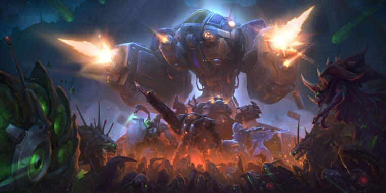 Heroes of the Storm: Endstation Braxis - Artwork
