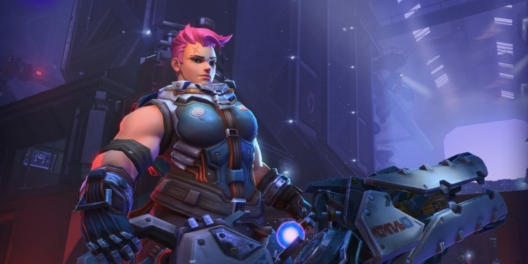 Heroes of the Storm: Zarya