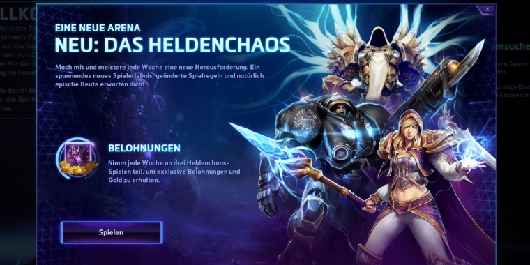 Heroes of the Storm: Heldenchaos