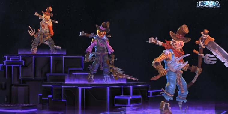 Heroes of the Storm: Vogelscheuche Xul Skin
