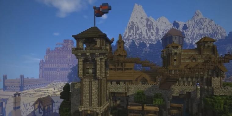 Minecraft Jeder Herrscher Wäre Neidisch Fan Baut Eigenes - Minecraft spieler melden