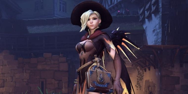 Overwatch: Sexy Hexy! Cooles Mercy-Cosplay zum Halloween-Skin