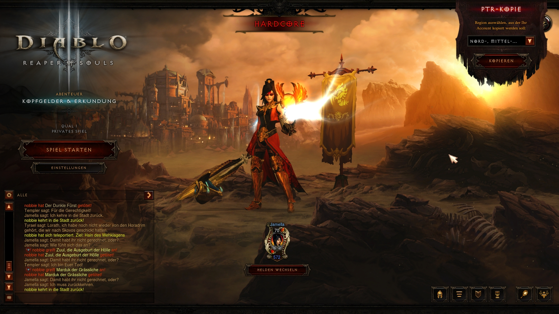 diablo 3 how to play darkening of tristrum