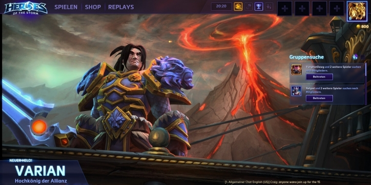 Heroes of the Storm: Varian Wrynn