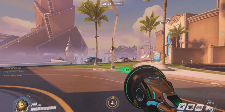 Overwatch: Oasis Map