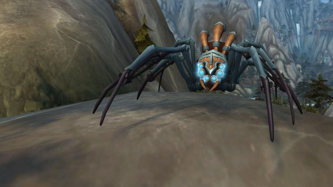 Jäger Spinne
