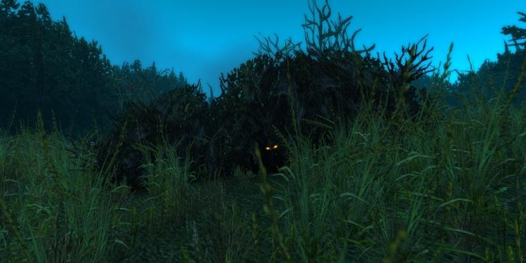 WoW: In so einem Busch kann Blitzpfote lauern.